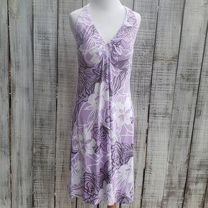 Tommy Bahama M Halter Sundress Lavender Floral